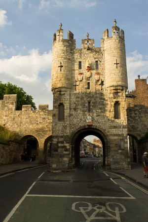 The grand entrance to York