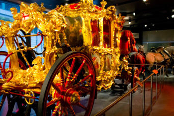 The Lord Mayor's coach, in its golden splendor