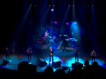 James performing at Brixton Academy