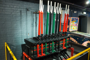 Railway signal box equipment