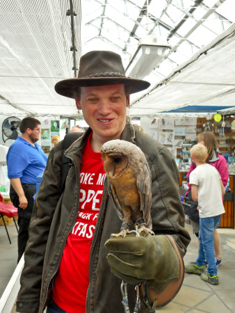 Ian Holds an Owl
