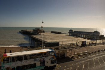 The restoration of the pier close to completion