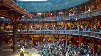 At the Globe for Taming of the Shrew