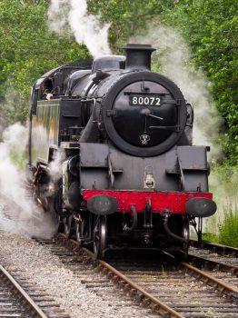 80072 in steam, a beautiful sight