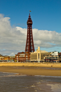 The most famous landmark of Blackpool