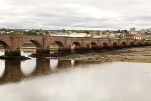 The original Berwick crossing