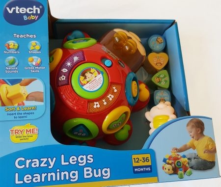 A vtech toy for ages 12 to 36 months