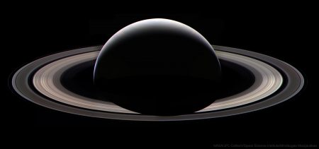 Cassini Last Saturn Ring Portrait
