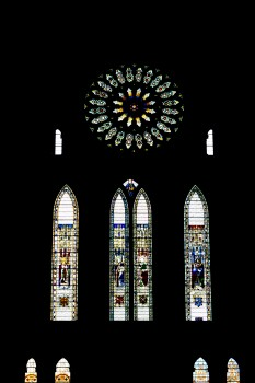 The rose window and friends