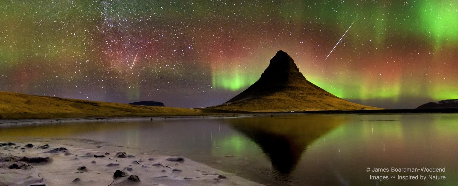 A pretty nice sky in Iceland
