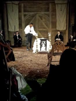 Othello over Desdemona's death bed