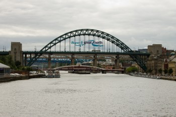 They've put the sign up on the Tyne Bridge about 2 weeks early