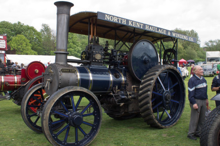Deborah Claire, a traction engine