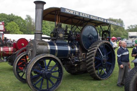 Deborah Claire, a traction engine
