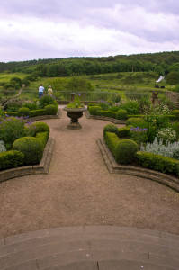 The garden of the manor house