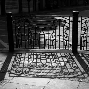 I like the castle image woven into the railings