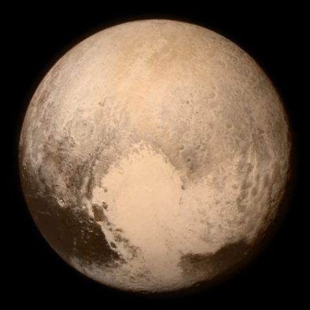 New Horizons' view of Pluto