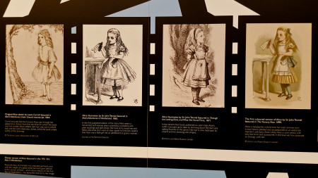 Illustrations of Alice. The middle two in particular just are, okay