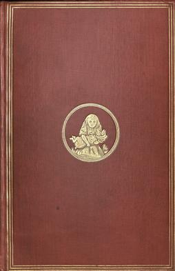 Cover of the first edition of Alice in Wonderland