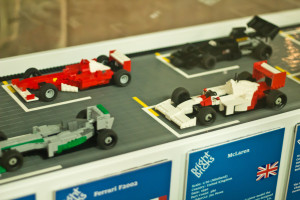 F1 cards in lego