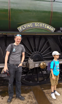 Meeting the loco